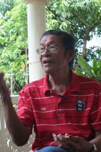 Bernardo Cabuco, a master Laji singer, resides in Ivana.